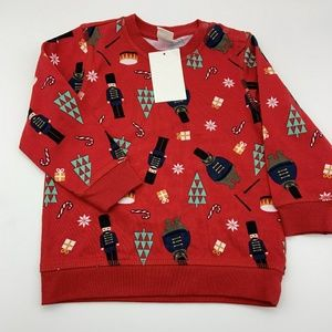 H&M Boy Sweater Christmas Sz: 1 1/2-2Y